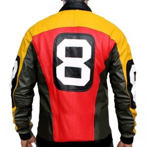 Puddy 8 Ball Leather Jacket