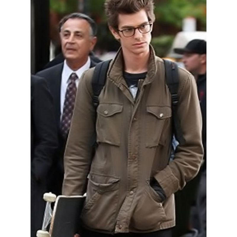 The Amazing Spider Man Peter Parker Jacket
