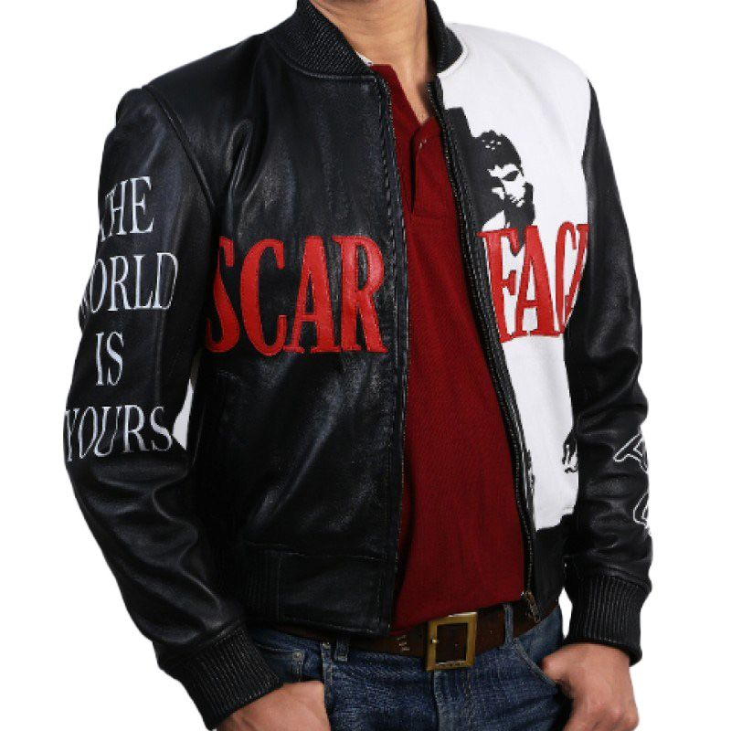 Scarface Tony Montana Bomber Jacket