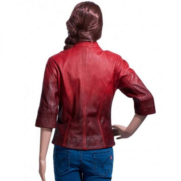 Red Scarlet Witch Jacket