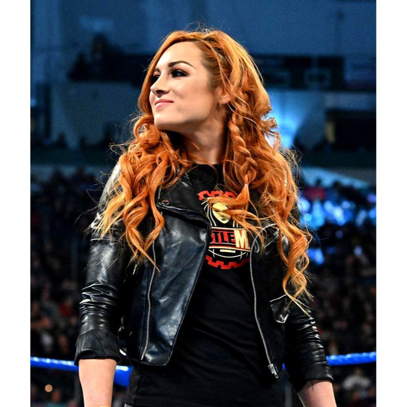 WWE Becky Lynch Leather Jacket