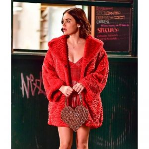 Katy Keene Red Fur Coat