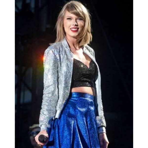 Taylor Swift Silver Sequin Jacket