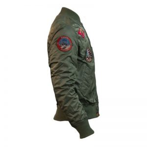 Top Gun MA-1 Bomber Jacket with Patches