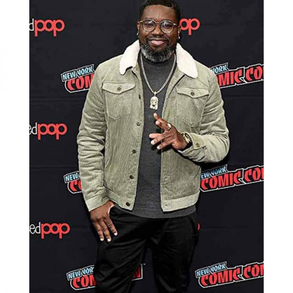 Free Guy Lil Rel Howery Corduroy Jacket
