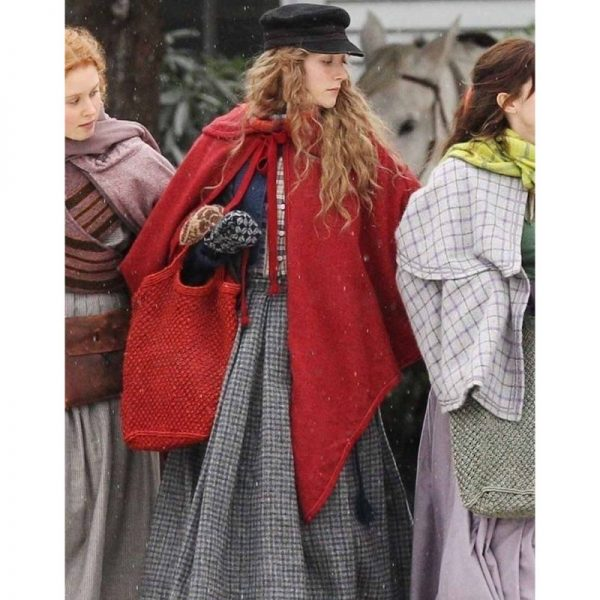 Little Women Jo March Red Coat