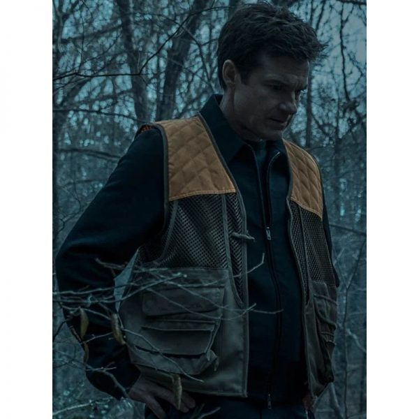 Jason Bateman Ozark Quilted Hooded Jacket