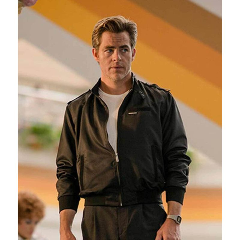 Wonder Woman 1984 Chris Pine Jacket