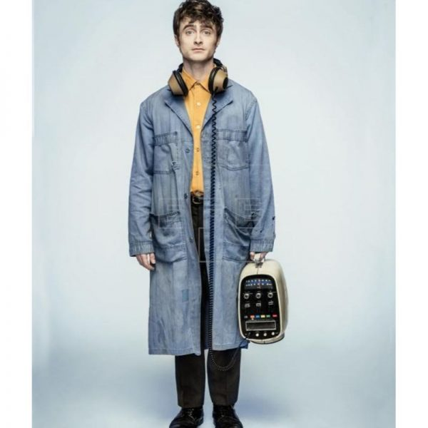 Miracle Workers Daniel Radcliffe Denim Coat